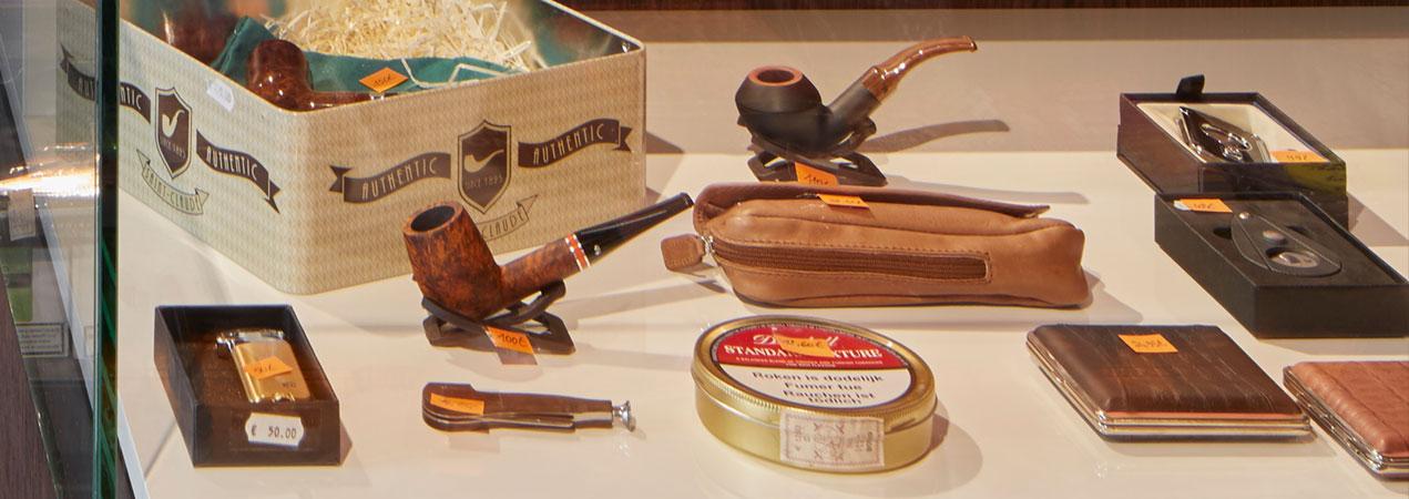 Rookaccessoires, tabak en pijp